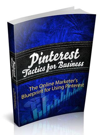 pinterest tactics for business ebook