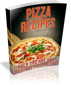 Pizza Recipes PLR Ebook