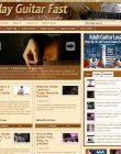 Play Guitar Fast PLR Website play guitar fast plr website main 110x140