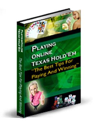 Playing Online Texas Holdem PLR Ebook