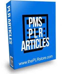 PMS PLR Articles