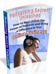 podcasting plr ebook