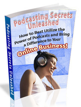 podcasting plr ebook