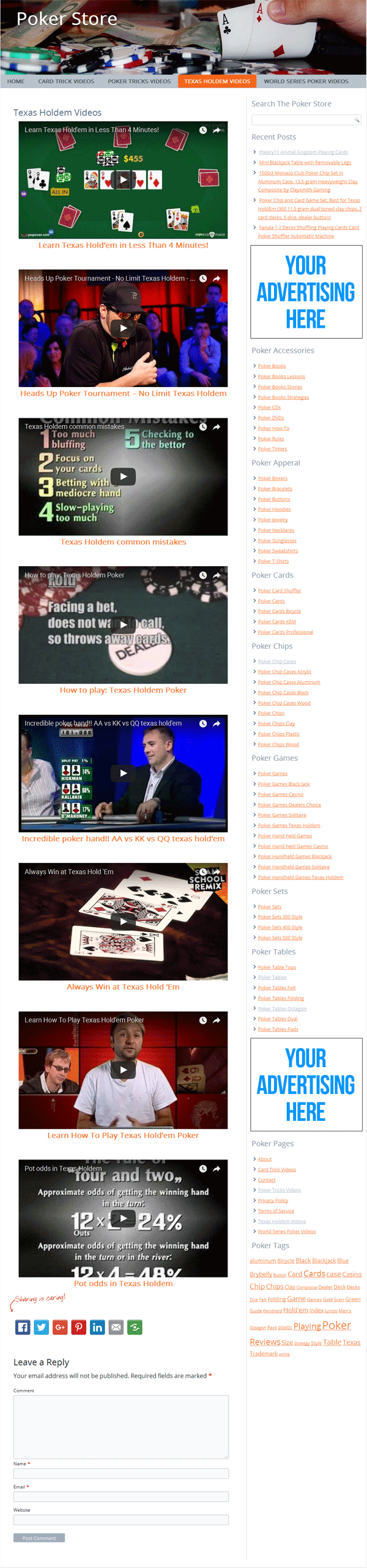 poker plr amazon store website