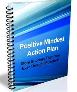 positive mindset action plan plr ebook