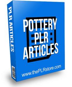 Pottery PLR Articles