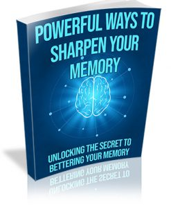 Powerful Ways to Sharpen Your Memory PLR Ebook