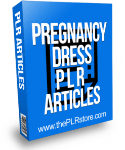 Pregnancy Dress PLR Articles