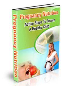 Pregnancy Nutrition PLR Ebook