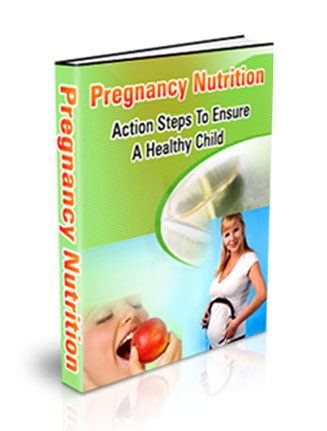 Pregnancy Nutrition PLR Ebook