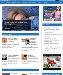 Pregnancy Nutrition PLR Website