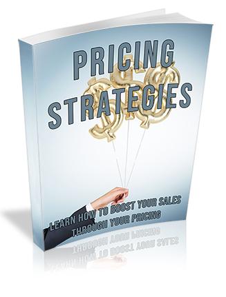 Pricing Strategies PLR Ebook