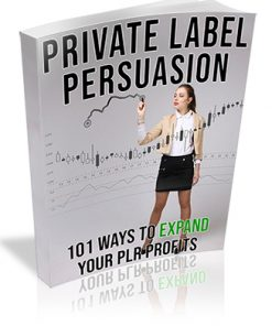 Private Label Persuasion PLR Ebook