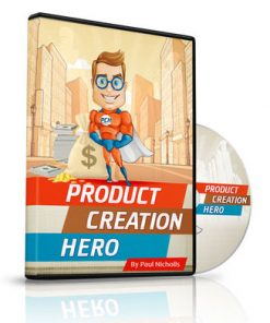 product creation hero plr video