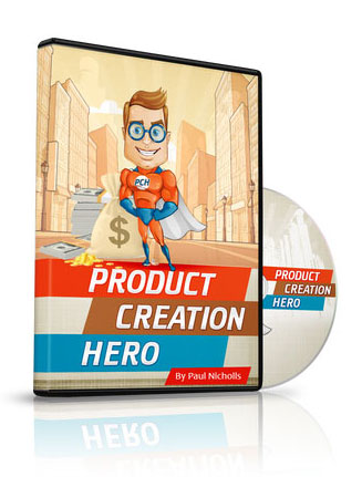 product creation hero plr video