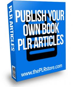 publish your own book plr articles