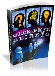 quick-profit-secrets-plr-ebook-cover  Quick Profit Secrets PLR eBook quick profit secrets plr ebook cover 181x250 private label rights Private Label Rights and PLR Products quick profit secrets plr ebook cover 181x250