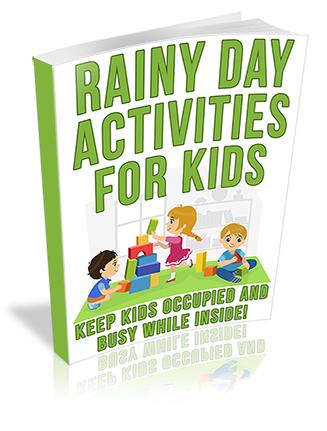 Rainy Day Activities for Kids PLR Ebook