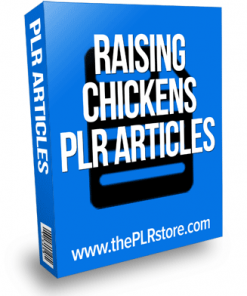 raising chickens plr articles