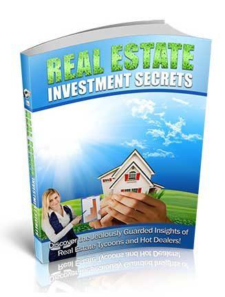 Real Estate Investment Secrets PLR Ebook