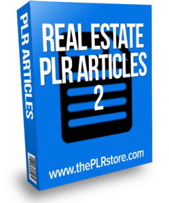 real estate plr articles