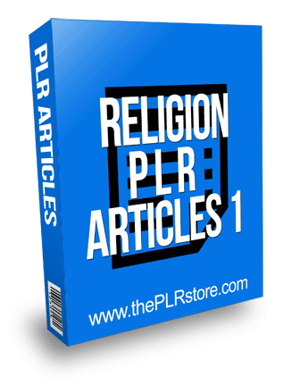 Religion PLR Articles 1
