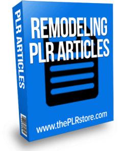 remodeling plr articles