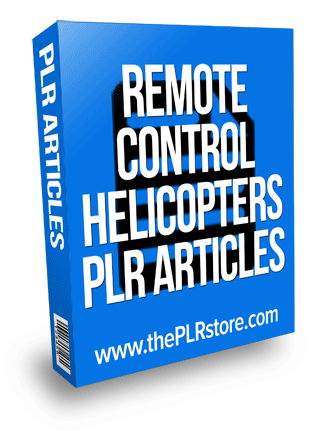 remote control helicopters plr articles