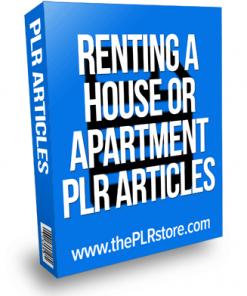 renting-a-house-or-apartment-plr-articles