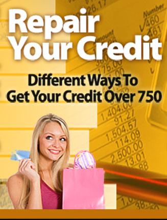 Repair Your Credit PLR Ebook