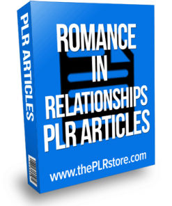 romance in relationships plr articles