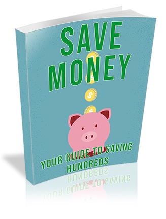Save Money PLR Ebook