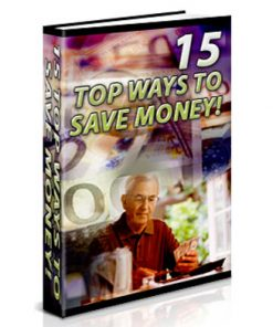 Save Money PLR eBook