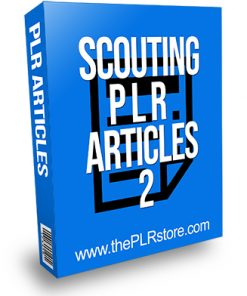 Scouting PLR Articles 2