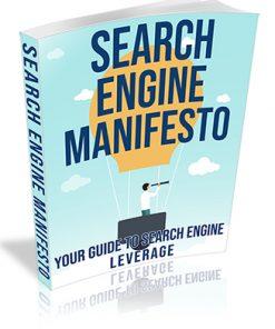 Search Engine Manifesto PLR Ebook