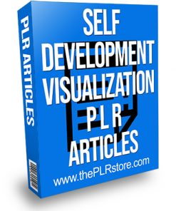 Self Development Visualization PLR Articles