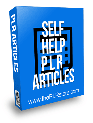 Self Help PLR Articles