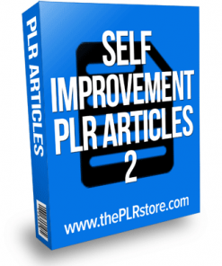 self improvement plr articles 3