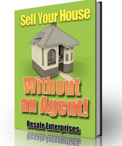 sell your house without an agent plr ebook