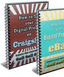 Selling Digital Products On Craigslist and Ebay PLR Ebook