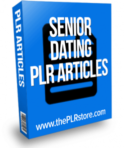 senior dating plr articles