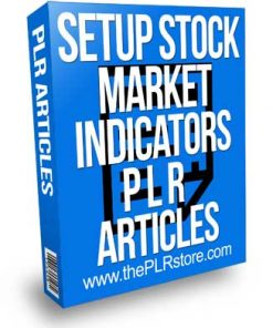 Setup Stock Trading Technical Indicators PLR Articles
