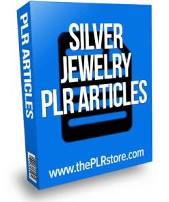 silver jewelry plr articles