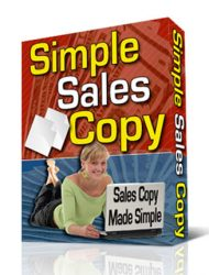 simple sales copy plr software