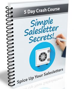 simple salesletter secrets plr autoresponder messages