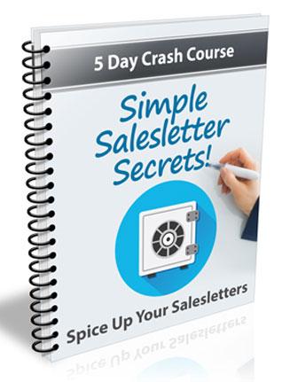simple salesletter secrets plr autoresponder messages