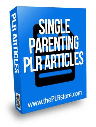 single parenting plr articles