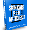 Skin Care PLR Articles 3