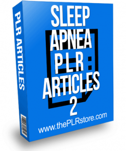 Sleep Apnea PLR Articles 2