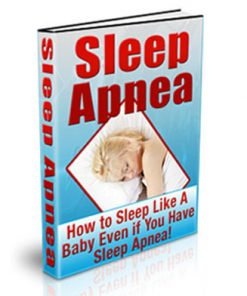 Sleep Apnea PLR Ebook
